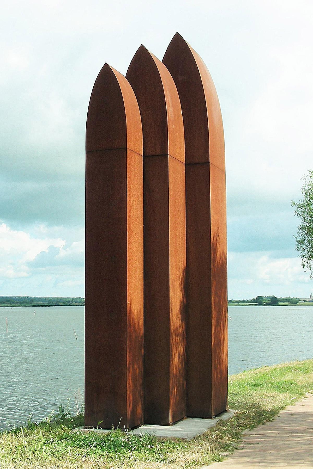 Hausungen – Winni Schaak - Bildhauer Sculptor